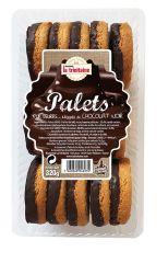 Palets nappés au chocolat noir- 320 g
